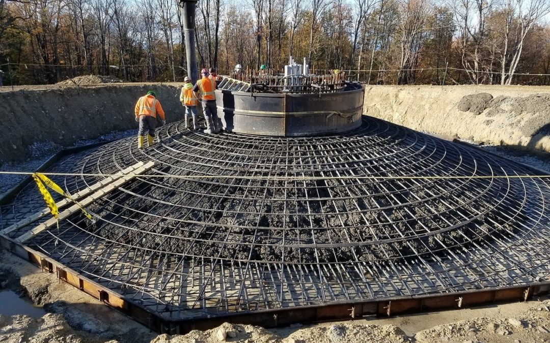 Encorus Group was on-site for the first concrete pour of the new Arkwright Summit Wind Farm.