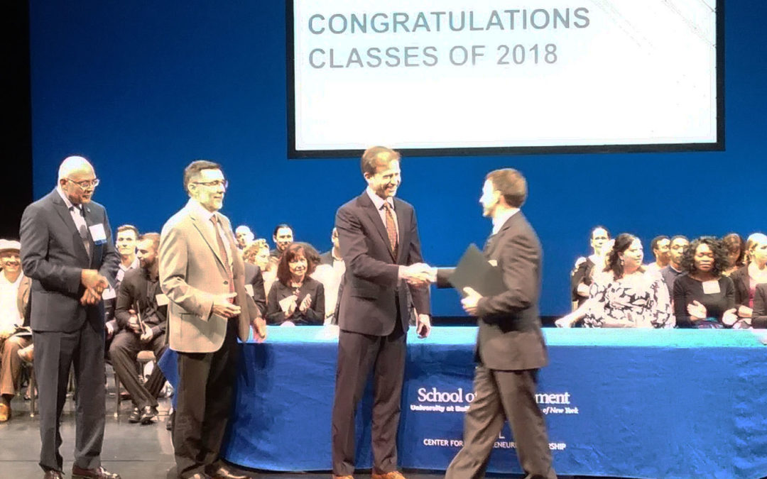 Joe Lowry Graduates from UB CEL Core Program