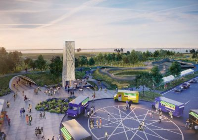 Buffalo Outer Harbor Access and Activation Civic Improvement Project Park Design