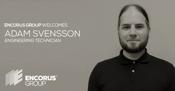 Encorus Welcomes Engineering Technician Adam Svensson