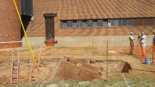 Buffalo State College Underground Fuel Oil Tank Inspection