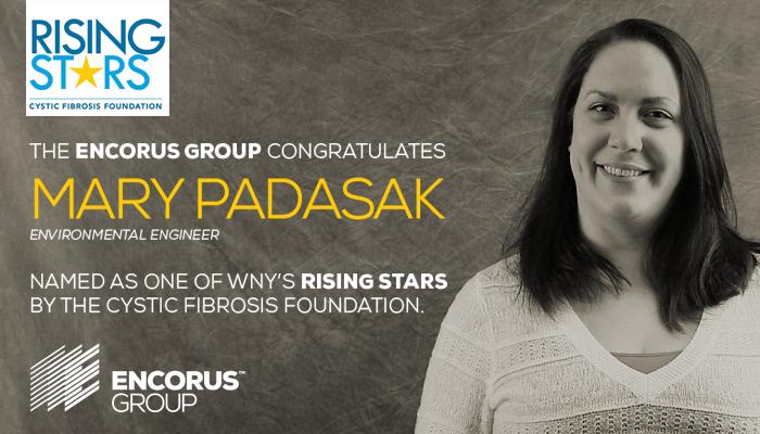 Mary Padasak Recognized as WNY Rising Star