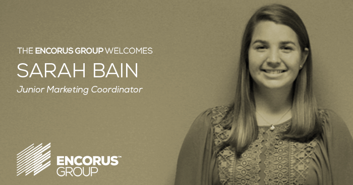 Introducing Sarah Bain, Junior Marketing Coordinator!