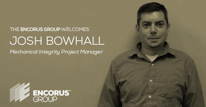 Encorus Welcomes Josh Bowhall