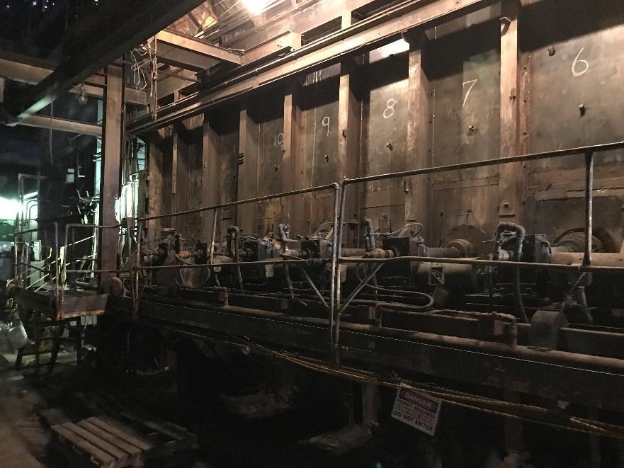 Republic Steel Reheat Furnace Wall Reinforcement