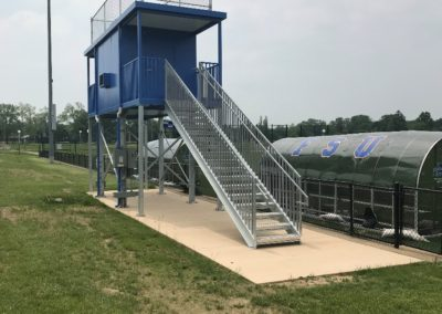 SUNY Fredonia Press Box Foundation Design