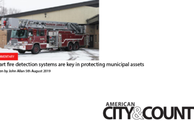 """Smart Fire Detection Systems"" Article Published in American City & County Magazine"