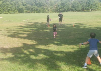 There were plenty of games and activities for kids, led by Encorus Client Relationship Manager Mike O'Neill.
