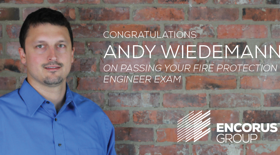 Congratulations, Andy Wiedemann!