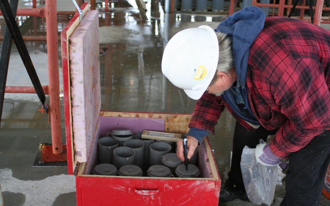 Making and Curing Concrete Test Specimens in the Field