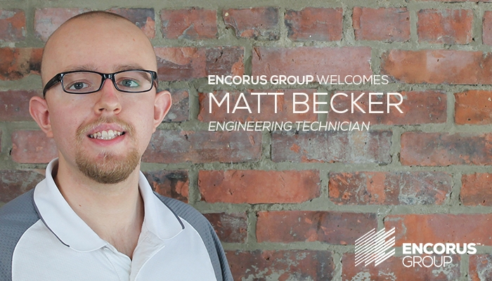 Welcome Matt Becker!