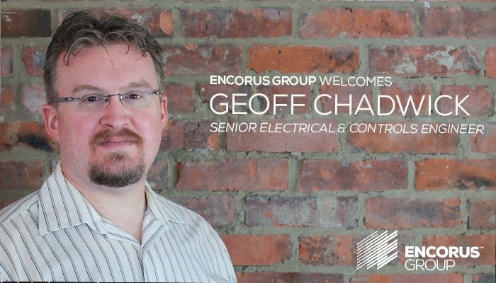 Welcome Geoff Chadwick!