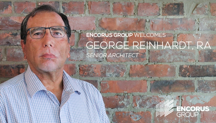 Welcome George Reinhardt, RA!