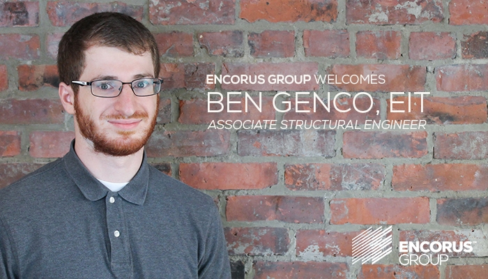 Welcome Ben Genco, EIT!
