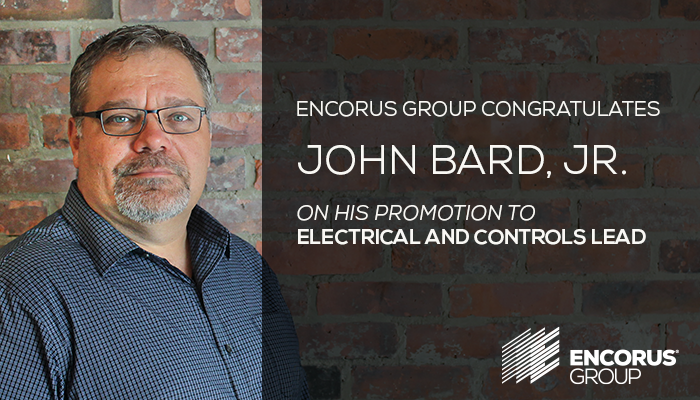Congratulations, John Bard, Jr.!
