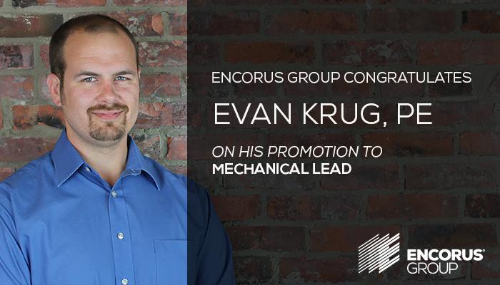 Congratulations, Evan Krug, PE!