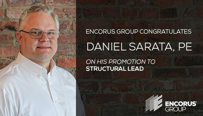 Congratulations, Daniel Sarata, PE, LEED AP BD+C!