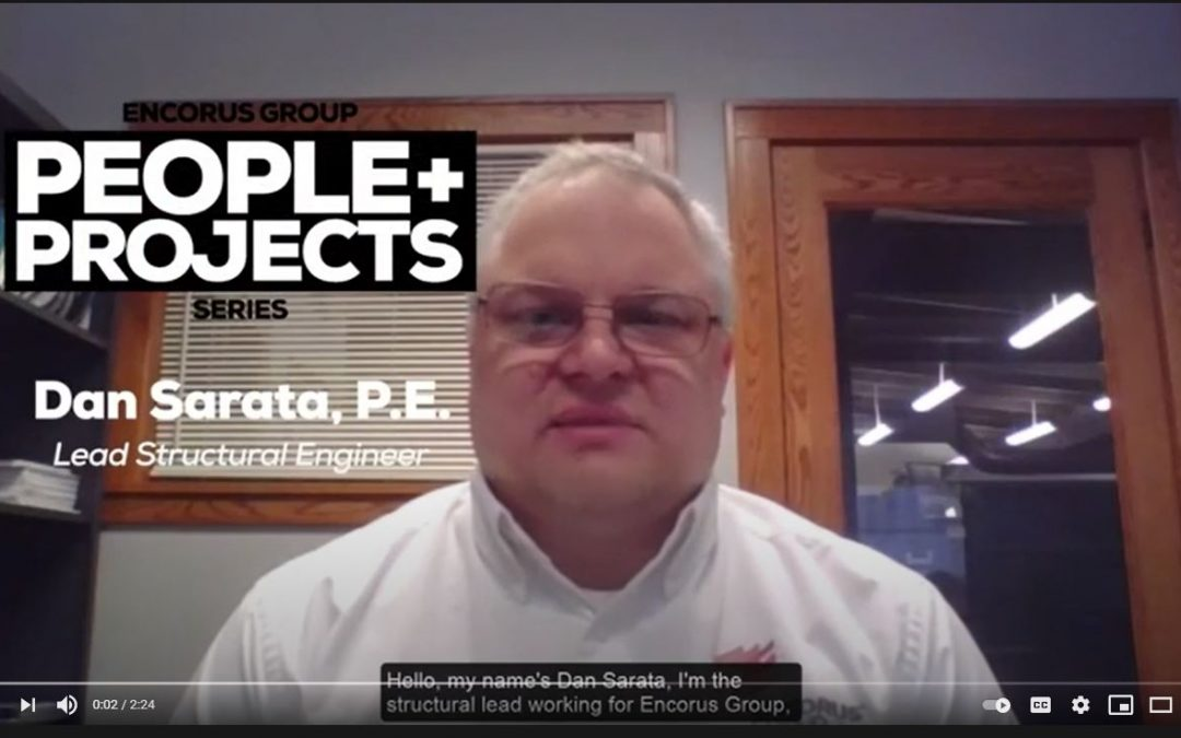 People & Projects: Dan Sarata, PE