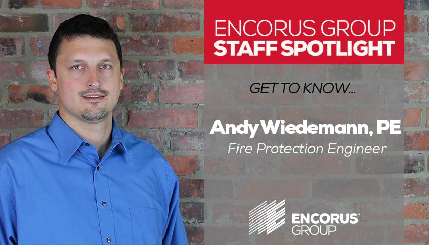 Staff Spotlight: Andy Wiedemann, PE