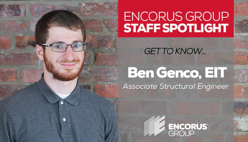 Staff Spotlight: Ben Genco, EIT