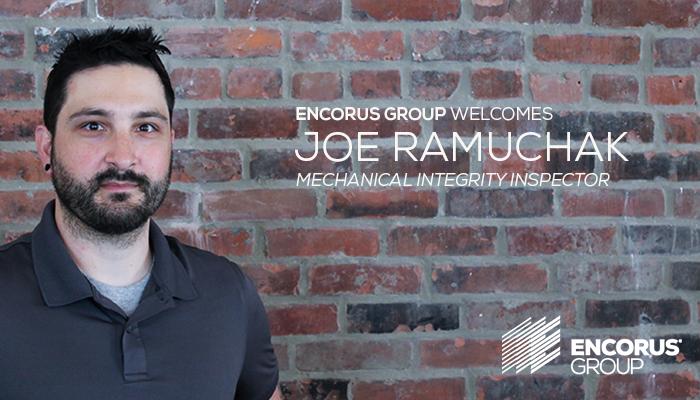 Welcome Joe Ramuchak!