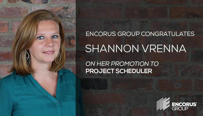 Congratulations, Shannon Vrenna!