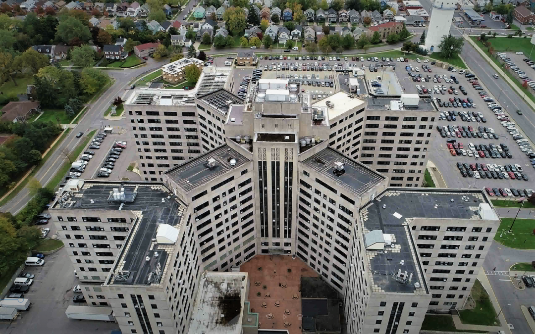 Buffalo VAMC Roof Replacement Project Highlight