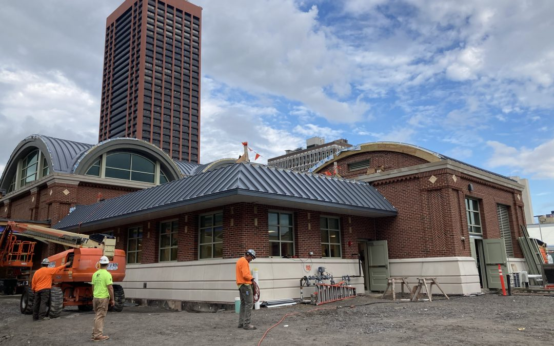 Exchange Street Amtrak Station Commissioning